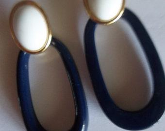 Trifari Door Knocker Earrings