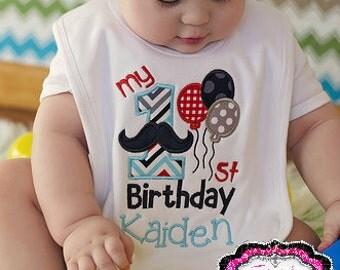 Mustache Bib, Mustache Birthday, Cake smash, Birthday bib, First birthday, First birthday bib, Birthday Gift