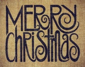 Burlap Christmas Sign Rustic Christmas Decoration Christmas Signs Burlap Print Christmas Gift 8x10 Frame Cottage Chic