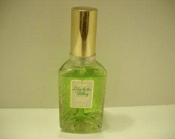 Vintage 1974 Avon Lily Of The Valley Cologne Spray, 1.8 fl. oz.--almost full (4)