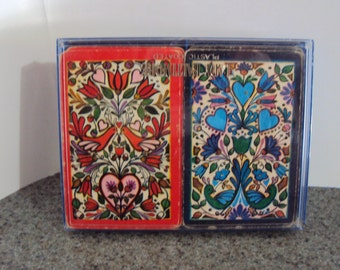 2 Sets of Vintage Playing Cards