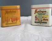 Two Vintage Fleming- Hall Tobacco Tins