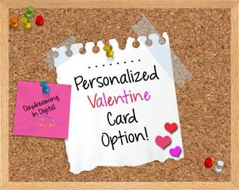 Custom Valentine Digital File