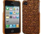 Palm Tree - Bamboo iPhone 4 / 4S case, Wood iPhone 4/4s case, iPhone 4 case