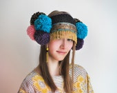 UTHA Pom-Pompia - festival headdress - hat - party hat