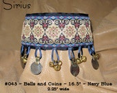 """Made to Order """"Bells and Coins"""" Hound Collar"""