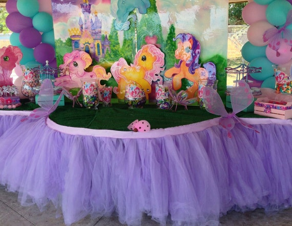 Custom Tutu Table Skirt Candy Buffet Centerpiece