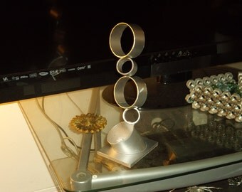 Metal Sculpture of Rings