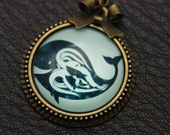Necklace whale 2525C