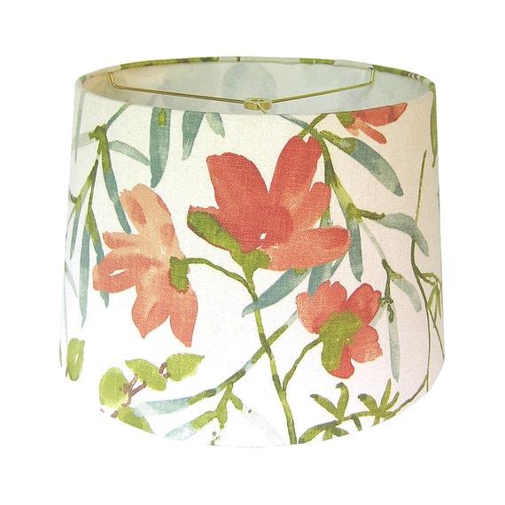 Custom Lamp Shade Floral Lampshade Fabric Lamp Shade