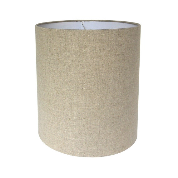 lamp shade lampshade pendant natural irish linen by cruelmountain. Black Bedroom Furniture Sets. Home Design Ideas