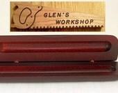 Pen Box Bubinga