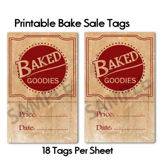 Clever image throughout printable sale tags