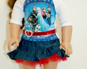 "Frozen American Girl 18"" Doll Clothing/ Outfit"