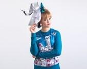 Paper islands - sweatshirt