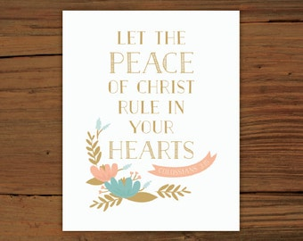 Colossians 3:15 Print