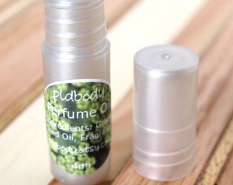 Rosemary Mint Perfume Oil, Roll On, 4ml, Vegan