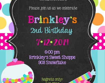 12 gymnastics birthday party invitations with envelopes and a, Party invitations