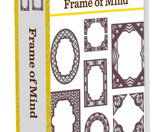 FRAME OF MIND -   Cricut Cartridge -  New and Sealed -SHipping NoW