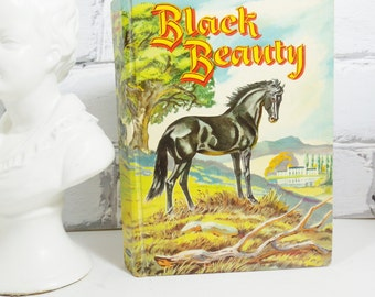 Vintage Black Beauty Hardcover Children's Book. Published  in 1956. Beloved Children's Story. Classic Literature. Nursery Decor.