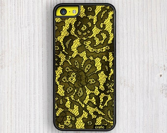 Floral Yellow Lace iPhone 6 case, iPhone 6/6S Plus | iPhone 5/5S | iPhone 5C, iPhone 4 case