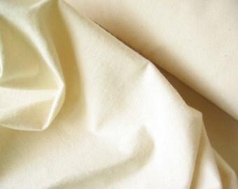 Heavy natural color cotton flannel fabric