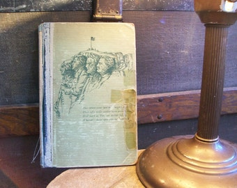1927 The Beacon Light and Other Poems by Murray Ketcham Kirk, Vintage Shabby Chic Book, Theodore Roosevelt, Mt. Rushmore, President Coolidge