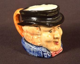 Toby Mug Toby Style Mug Ceramic Occupied Japan Figural