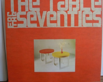 Vintage Mid Century Table for the Seventies