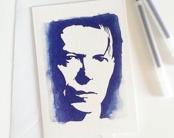 David Bowie, Ziggy Stardust, Momento,Greetings Card