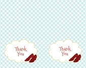 Custom made to match thank you cards