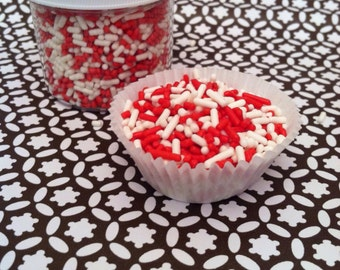 Sprinkles, Red and White Sprinkles