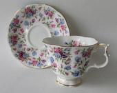 Royal Albert Teacup and Saucer Nell Gwynne Series Mayfair