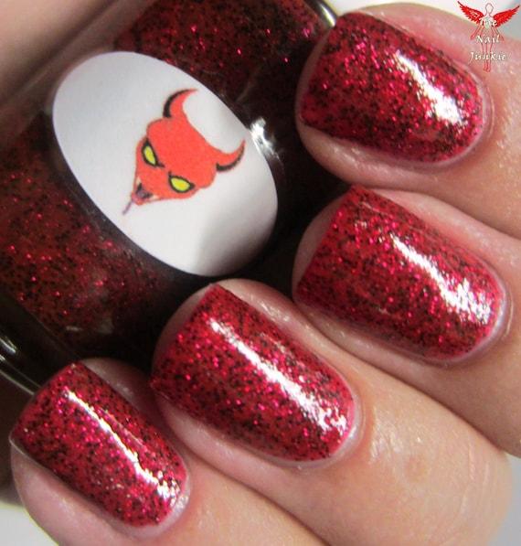 Halloween Devil Nail Polish