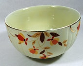 Jewel T, Jewel Tea Serving Bowl - Hall's Serving Bowl - Vintage Serving Bowl - Mary Dunbar Tested