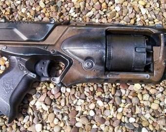 Steampunk Nerf Strongarm gun