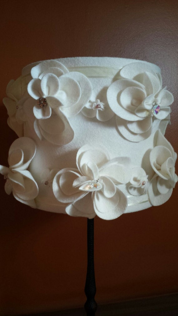 Hand made Shabby chic lamp shade
