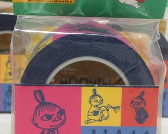 Moomin Little My Colorful Masking Tape Deco Tape Paper Tape Wide Tape 15M (R046-07)