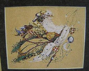 "Mirabilia ""Santa's Magic"" by Nora Corbett Cross Stitch Pattern"