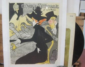 DivanJaponais Vintage Poster - Toulouse-Lautrec - c.1960s