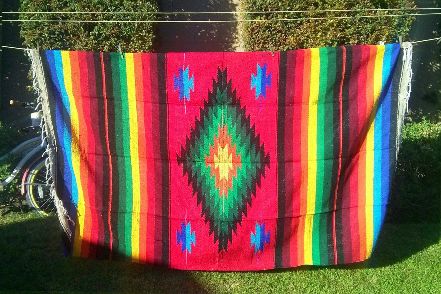 Mexican Blanket Fabric/ anthropologie/ urban outfitters/