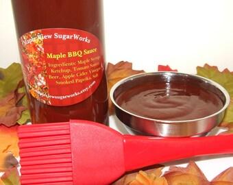 Spicy~Sweet Maple BBQ Sauce - 12 oz