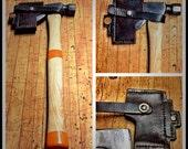 RESERVED for BigJimGunny - Custom Leather Sheath for Stanley single bit boy's axe