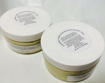Unscented - Natural Hair Care - Natural Hair Products - Curly Hair - Wavy Hair - Moisturizing Hair Cream - Moisturizing Hair Creme