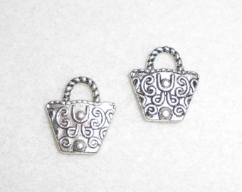 Silver Purse Charms