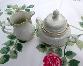 "Rosenthal Cream and Sugar, Porcelain ""Classic"""