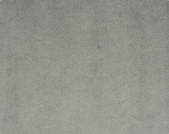 CHARCOAL plush minky fabric - 1 yd cut.  Shannon Fabrics plush cuddle fabrics