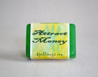 Spell Soap to Attract Money with complete casting instructions