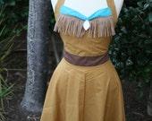 Women's Disney Character Vintage Apron-Pocahontas