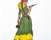 Bible Character Drawing: Jael